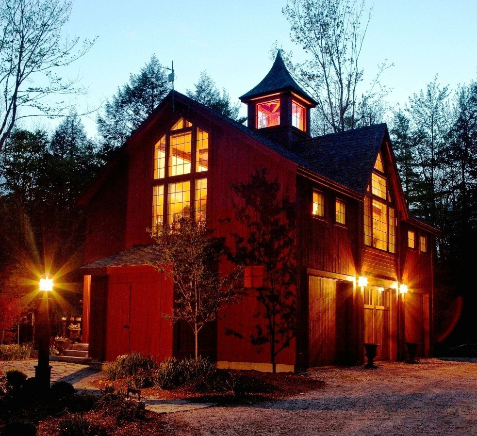 Design build series iv lighting your way for Carriage house barn