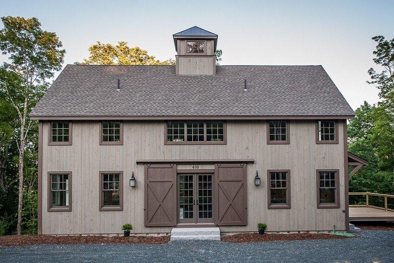 Classic Barn Home Lakehouse