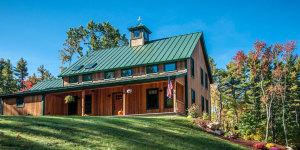 Post and Beam Farmhouse