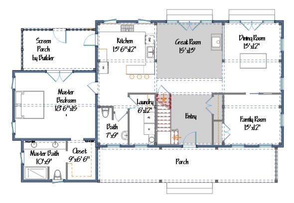 Proctor Farmhouse Style Home Plans Yankee Barn Homes