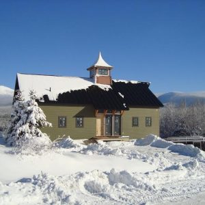 The Cabot Barn Home Winter