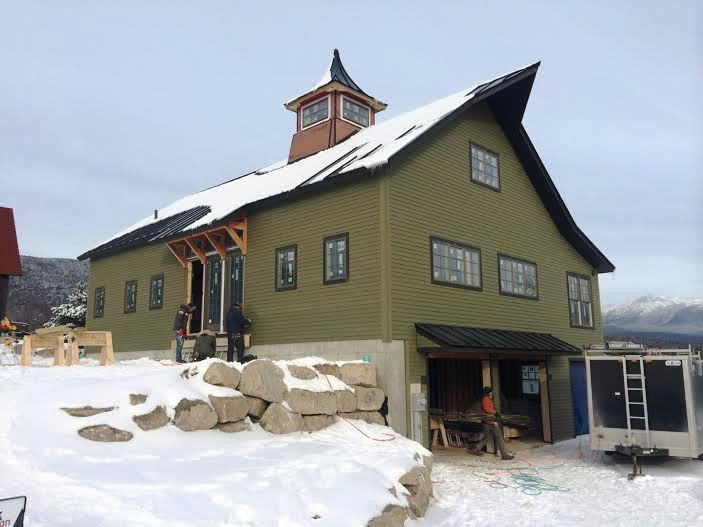 The Cabot Entrance Construction