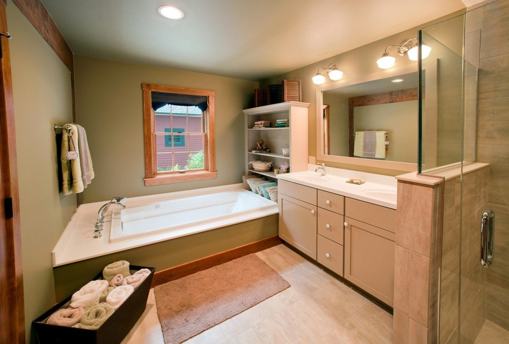 Modern Bath Design The Sawyer Barn Home