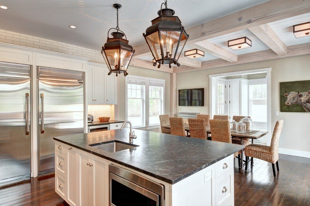 Cove Hollow Kitchen Island
