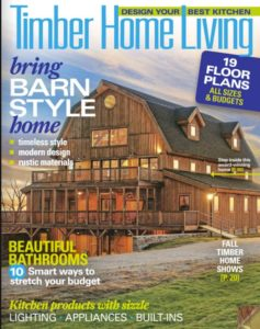 Yankee Barn Homes in Timber Home Living