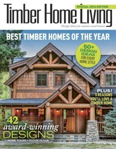 Timber Home Living - Best Timber Homes of the Year 2016