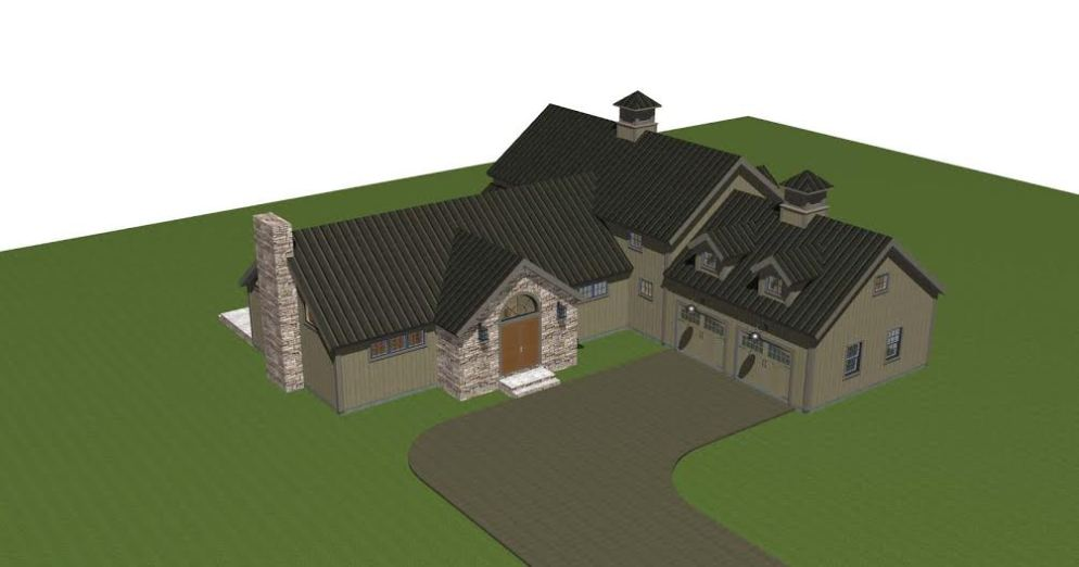 Hunt Valley Barn House Plans