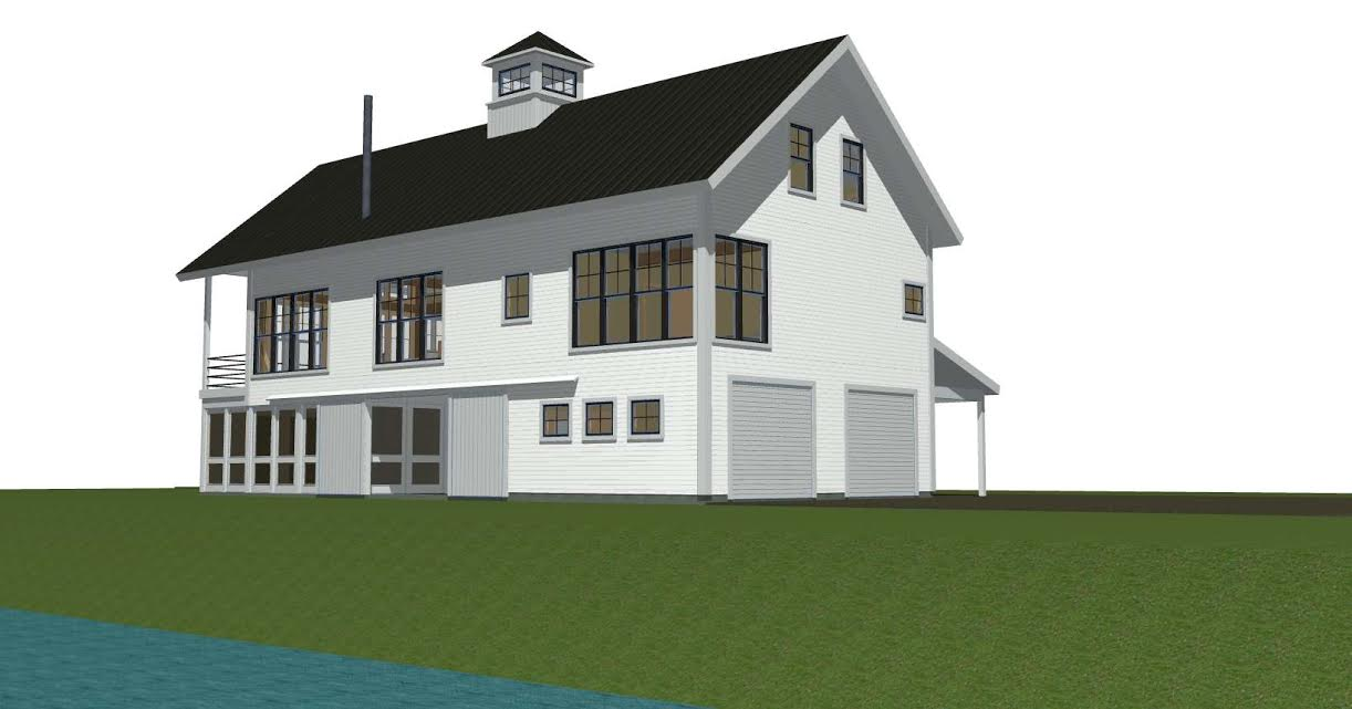 13 stunning contemporary barn house plans home building for Modern barn house plans