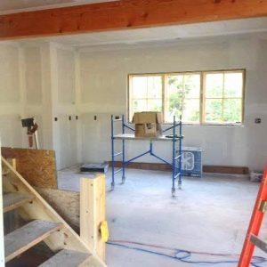 Cooperstown First Floor Construction