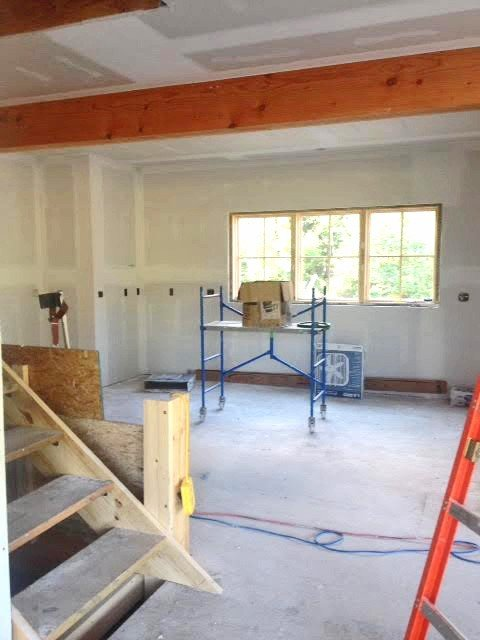 Cooperstown First Floor Construction