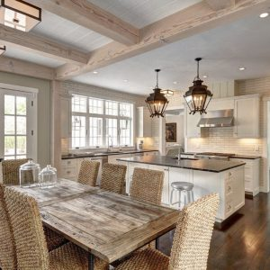 Cove Hollow Breakfast Room to Kitchen