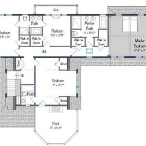 Cove Hollow level Two Floor Plan