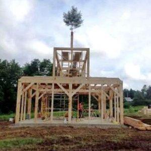 Fir Tree Barn Frame Tradition