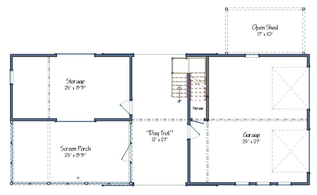 Trot house plans 28 images dogtrot house floor plan for House plans com classic dog trot style