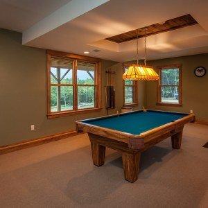 Lower Level Billards Room