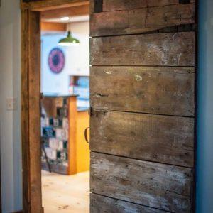 Antique Wood Sliding Barn Door