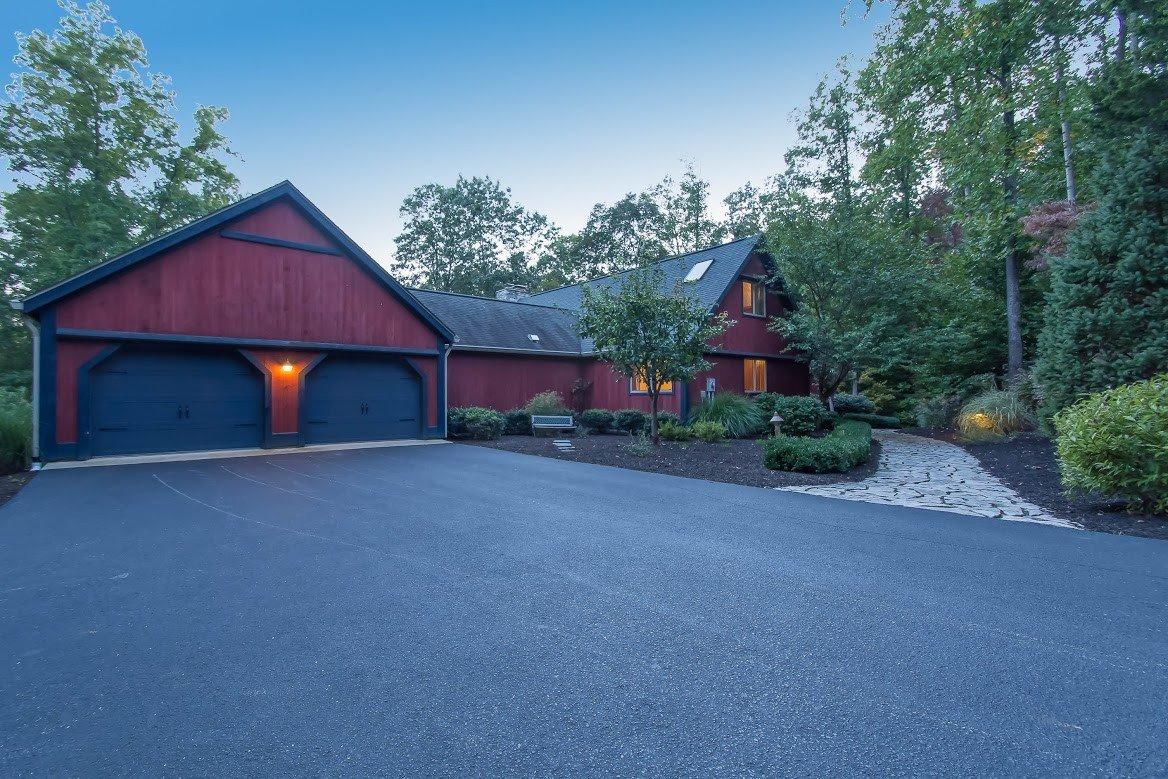 Kerr Creek Barn Home Exterior Garage