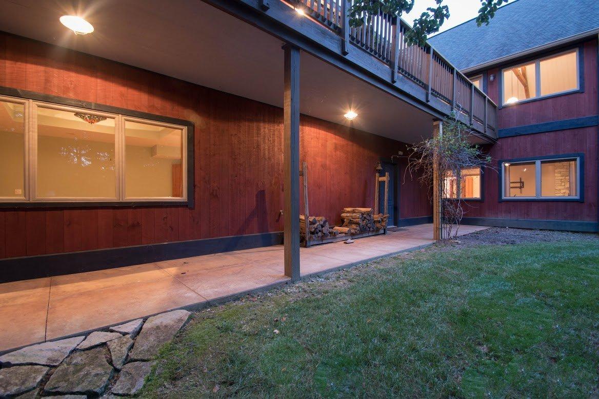 Kerr Creek Barn Home Deck