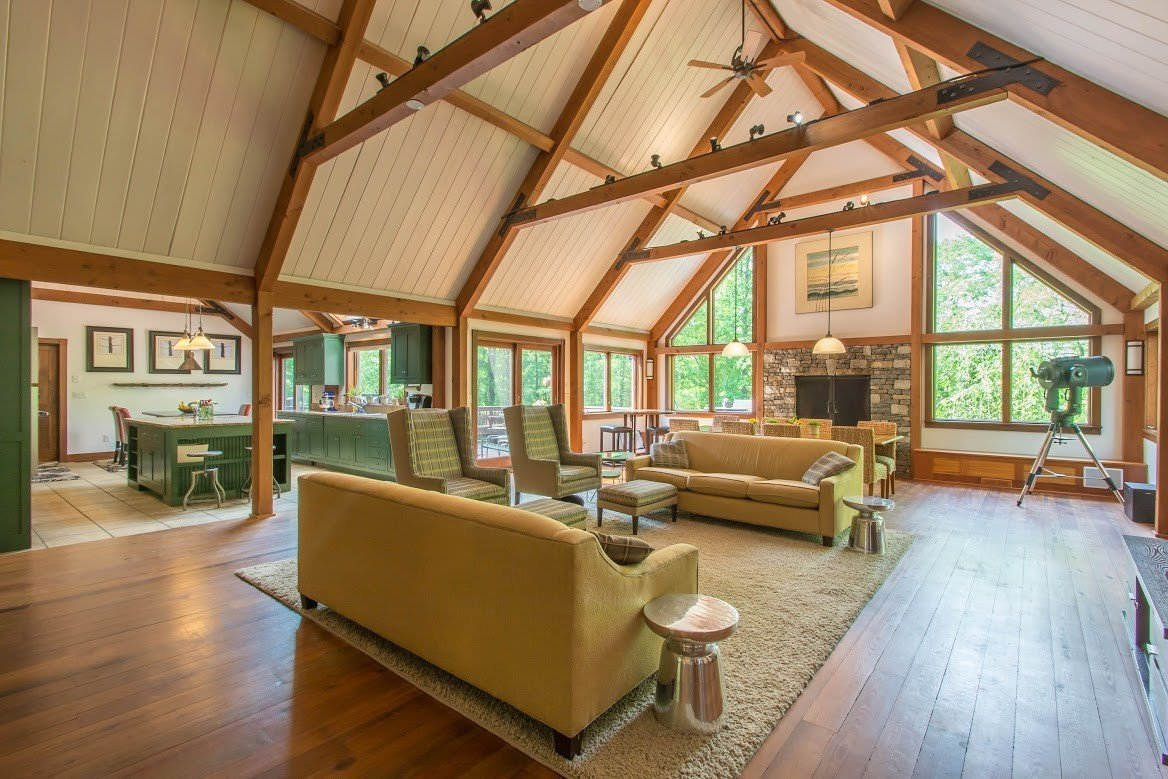 Barn Home Great Room