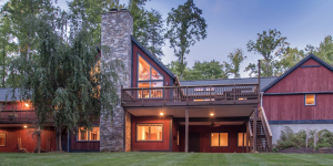 Post and Beam Barn House