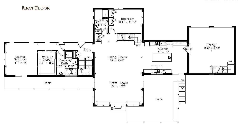 YBH Kerr Creek Barn Home Floor Plan