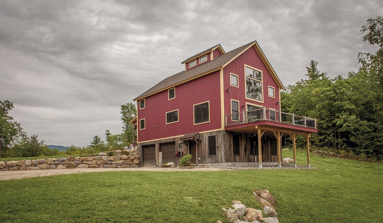 Timber Frame Barn Home - Photography by Northpeak Design