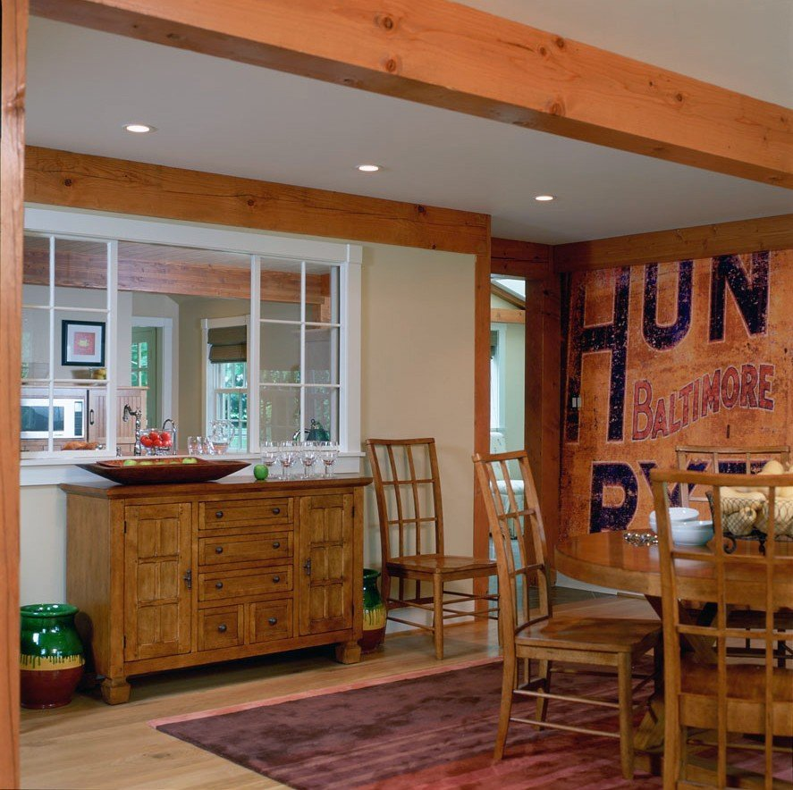 Barn Home Dining Area