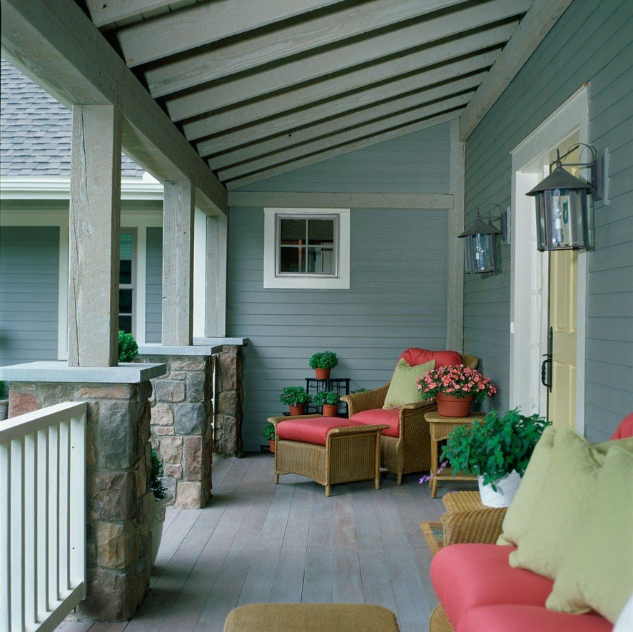 Brandywine Barn Home Farmers Porch