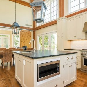 Kitchen/Dining to Sunroom