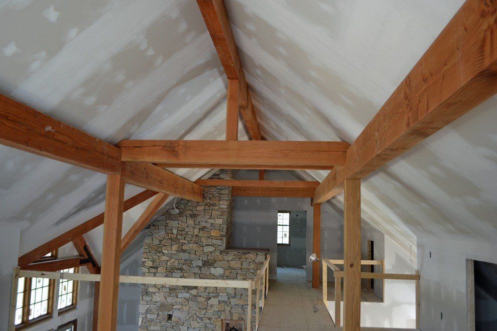 Exposed Timber Frame