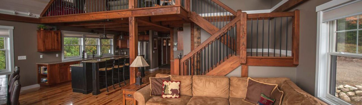 Barn House Staircase