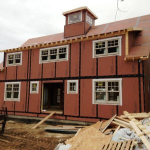 Mansfield Hollow Front Construction