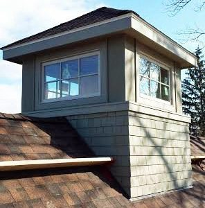 Open Cottage Cupola