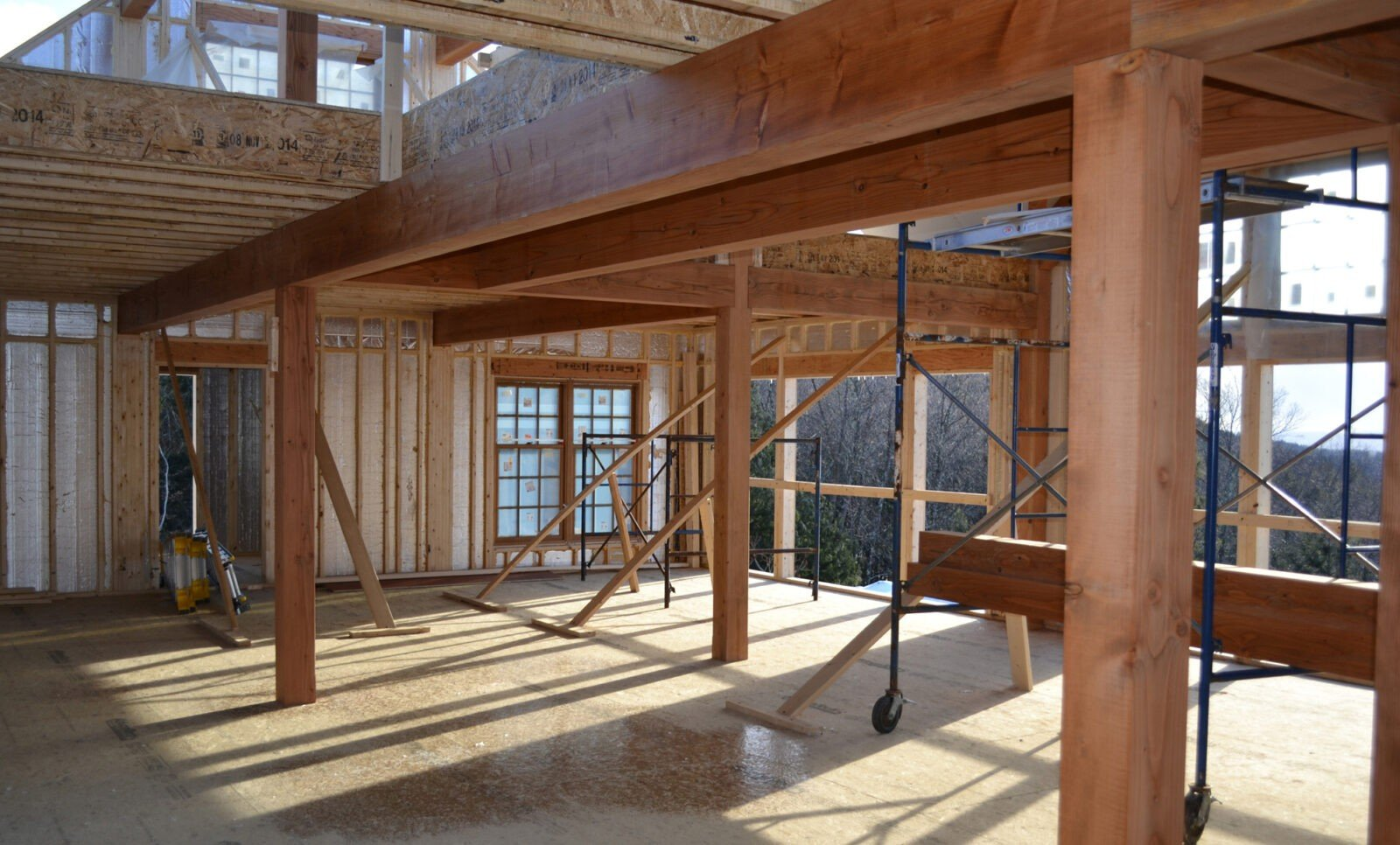 Terrific How Timber Frame Effects Cost Of A Build Home Interior And Landscaping Elinuenasavecom