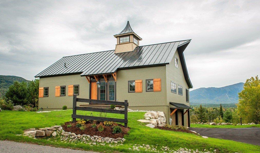 cabot barn home - yankee barn homes