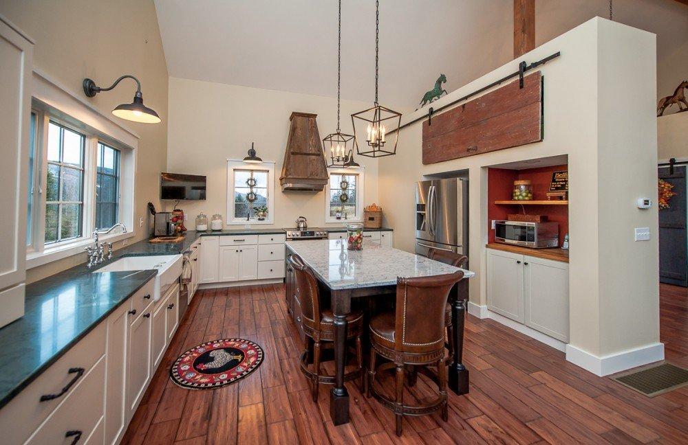 Cabot Barn House Kitchen