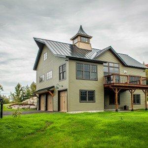 Cabot Barn House Back