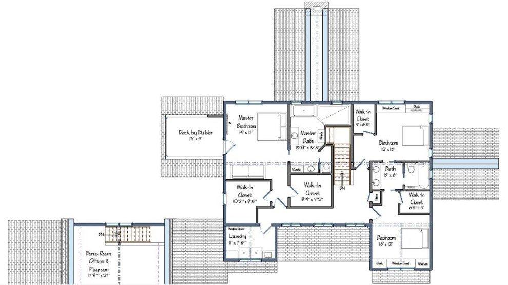 Harwich Level Two Floor Plan