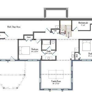 Granite Ridge Lwer level Floor Plan