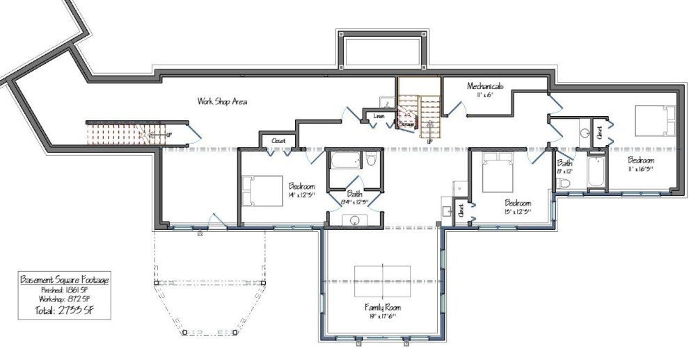 Post and beam single story floor plans for Granite ridge floor plans
