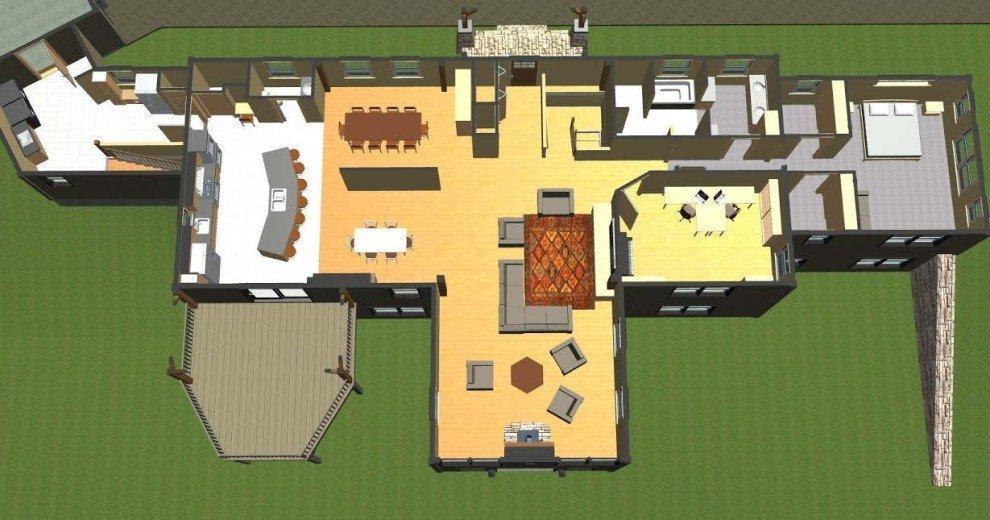 Single Story Floor Plans | Post And Beam Single Story Floor Plans