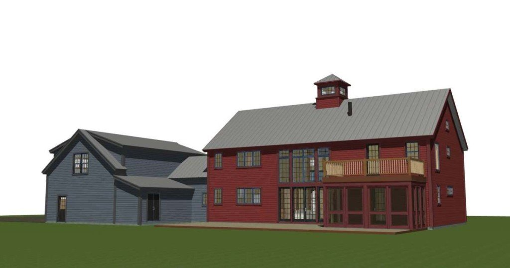 Bancroft Barn Home Yankee Barn Homes