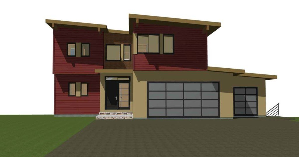Contemporary Prefab Panelized Post and Beam Home