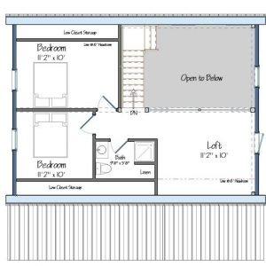 Mont Calm Level Two Floor Plan