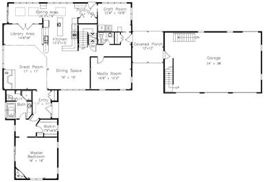 Merrill Brook Floor Plan Preview