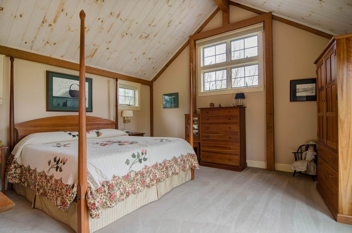 Traditional Barn Style Master Bedroom