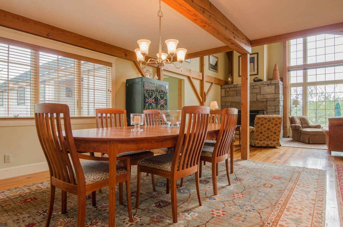 Traditional Barn Style Timber Frame Dining