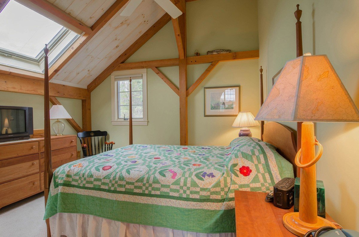 Traditional Barn Style Guest Bedroom