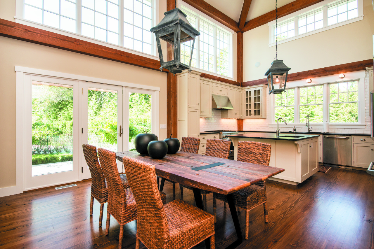 East Hampton Post and Beam Kitchen Addition