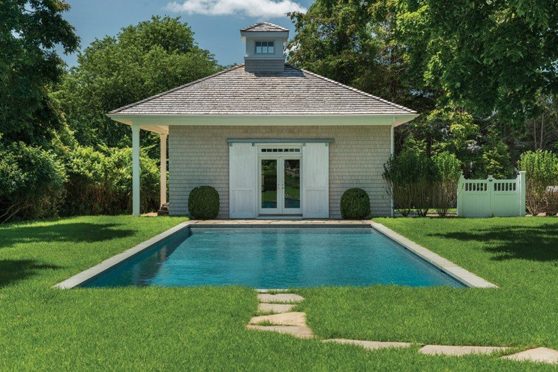 East Hampton Pool House